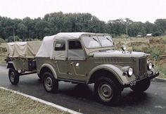 ГАЗ-69А с прицепом ГАЗ-704