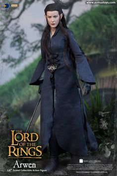 The Lord of the Rings Arwen Sixth Scale Figure by Asmus Le Hobbit Thorin, Legolas, Arwen, New Cinema, Barbie, Tauriel, Liv Tyler, Movie Props, Lord Of The Rings
