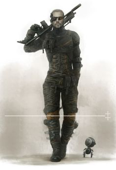 Soldier Concept by Eve Ventrue