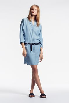 SET Shirt Dress: https://www.set-fashion.com/hemdblusenkleid-0052543-5300 | SET Leather Belt: https://www.set-fashion.com/loop-lederg%C3%BCrtel-0052565-9990 #setfashion