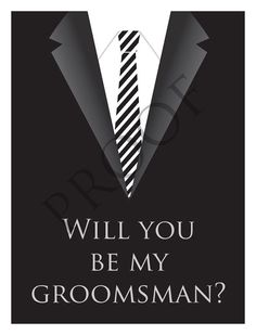 Items similar to Wedding Party Groomsman/Best Man Wine or Spirits Label or Digital File Custom & Personalized Available on Etsy Be My Groomsman, Groomsmen, Wedding Wine Labels, I Am Awesome, Spirit, Party, Etsy, Parties