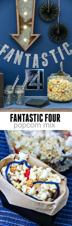 A fun family activity with Fantastic Four and a popcorn mix kids will love. #Pop4Fantastic4 #Ad #Pmedia