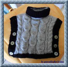 tricoter 1 poncho