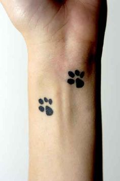 I like this idea, maybe on my heart, since my furry family members make a permanent mark on my heart.