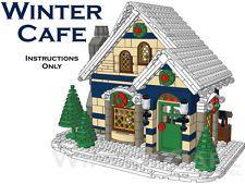 Winter Cafe (Custom LEGO Winter Village Building) - Instructions Only in Jouets & passe-temps, Jeux de construction, Ensemble LEGO, Mini figurines | eBay