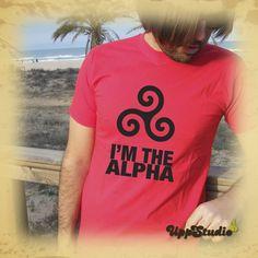 #Camiseta #TeenWolf #TShirt #Alpha #Tee #Diseño #Design con envío #GRATIS sólo en www.UppStudio.com
