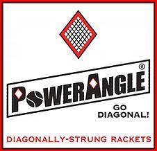 PowerAngle Diagonally-Strung Tennis Rackets - PowerAngle.net