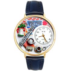 Coffee Lover Watch in Gold (Large)