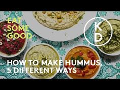 Healthy Hummus, 5 Ways on The Morning Show With Kim D'Eon Healthy Hummus, Hummus Recipe, Dinner Salads, 5 Ways, Sandwiches, Pizza, Wellness, Watch