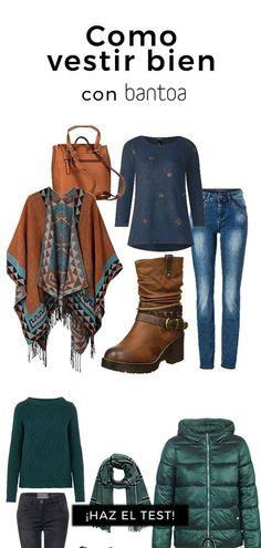 Bantoa te propone outfits y combinaciones con las prendas más adecuadas para ti. Selecciona los artículos que te interesan y cómpralos en los sitios web de los mejores partners. Estilo Fashion, Look Fashion, Hijab Fashion, New Fashion, Fashion Outfits, Womens Fashion, Cool Outfits, Casual Outfits, Spring Outfits Women