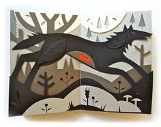 Tracy Debuts Paper Cut Illustrations at Studio Tour