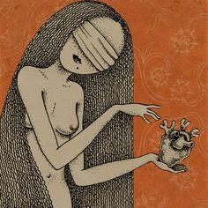 Who re you? by Viive Noor  Illustration - Estonia