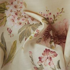 Country Pink Petals Print Eco friendly Curtain  #floral #curtains #homedecor #interiordesign Floral Curtains, Curtain Patterns, Pink Petals, Vintage Girls, Eco Friendly, Country, Rooms, Bedrooms, Rural Area