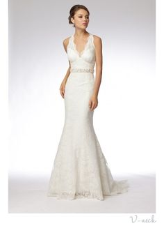 flattering wedding dress for athletic build | Wedding Dress Necklines: Find Your Most Flattering! | OneWed