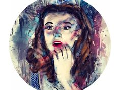 """""""Oh My!"""" Limited edition signed and numbered prints (a3) by Bianca Laing"""