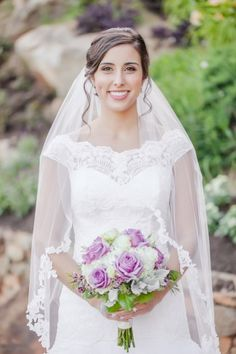 A Romantic Lilac Tone Wedding in Greenville by the River https://www.loveandlavender.com/2017/03/lilac-tone-wedding-greenville-river/