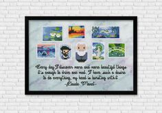 Mini Artists Galleries - Claude Monet - Art and science - Mini People - Cross Stitch Patterns - Products