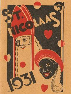 Bestelkkaart banketbakker de Haag. Vintage Ads, Vintage Images, Christmas Projects, Holland, Christmas Cards, Saints, The Past, December, Santa Clause