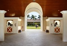 26.9 million dollar horse farm located in Wellington, Florida.