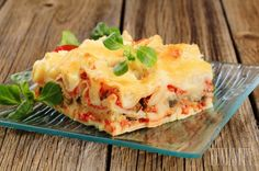 Photo about Portion of tasty lasagna on a plate. Image of tomato, cuisine, cooked - 19682640 Tasty Lasagna, Lasagna Recipes, Molho Alfredo, Mexican Vegetables, Mexican Dishes, Nutritious Meals, Food Preparation, I Love Food, Pasta Dishes