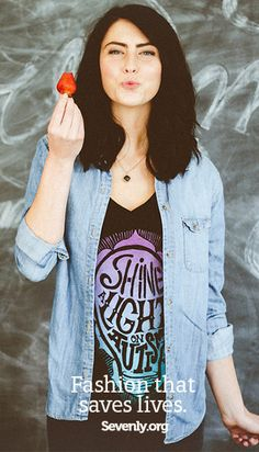 Why should you care about these shirts?  Because they help support families who have children with autism - and chances are, you know someone who's been diagnosed. Grab a shirt here ➤ http://www.sevenly.org/?cid=PINTERESTdale
