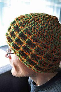 ravelry pattern- waffle stitch winter hat