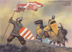 The Scandinavian Baltic Crusades 1100–1500, Danish Crusade Against the Estonians, 1219. Osprey Publishing