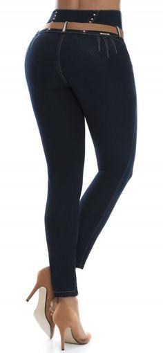 ff36f6cc80f31 Jeans levanta cola ENE2 93398 Azul Jeans Levanta Cola, Palazzo Trousers,  Jean Shorts,