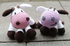 Amigurumi Cowco : Cows on Pinterest Baby Cows, Amigurumi and Milk Cartons