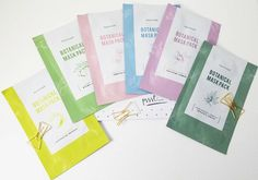 Bonvivant Botanical Pure Masks Sheet game just got on fleeker! This line contains 6 variations with each sheet composed of 100% Eucalyptus Fiber. . Brief overview on the benefits offered by each variation:. Tea Tree Camomile : Pores Tightening and exfoliating (AHA). Lotus Flower Hyaluronic Acid : Moisturizing: Tried this last night & loved. Great fit fell asleep on it after 30 mins & it was still moist very faint if negligible scent no burning/stinging minimal extra essence woke up looki...