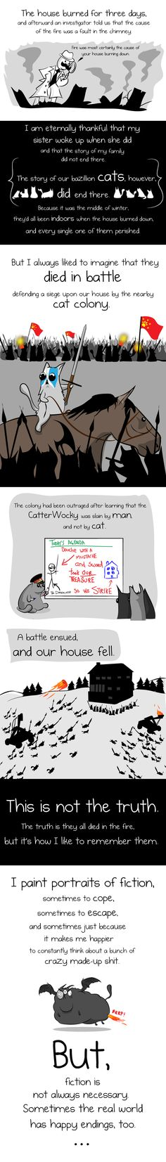 When your house is burning down, you should brush your teeth - The Oatmeal