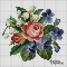 #lovely #flowers #crossstitch