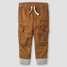 Baby Boys' Woven Cargo Pant - Cat & Jack™ : Target