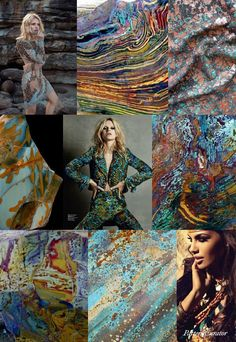 Pattern Curator – PRINT + PATTERN INSPIRATION: an insightful forecast of mood boards & color stories
