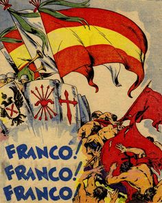is the slogan on a nationalist poster, during the Spanish Civil War.