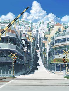 the girl who leapt through time - scenery of tragedy Film Anime, Manga Anime, Anime Art, Baby Clip Art, Animation, Environment Concept Art, Anime Scenery, Retro Art, Anime Shows