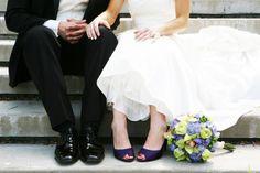 Wedding Day High Heels from rusticweddingchic.com
