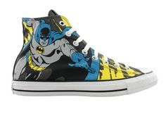 I need these DC Comics sneakers!