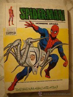 VERTICE MARVEL COMIC SPIDERMAN SPIDER-MAN VOL.1 Nº 38 AÑO 1972 - RQ