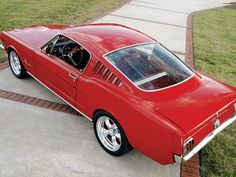 1966+mustang+fastback | 1966 Ford Mustang Fastback Overhead Photo 7