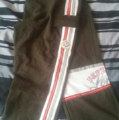 Pepe Jean  London Capri sweatpants Worn once  ties at legs pepe jeans London   Other