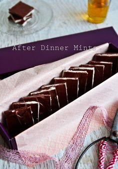 Homeade after dinner-mints recipe