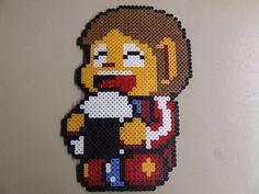 Alex Kidd Sega Character Onigiri Pixel Art Bead by MelParadise