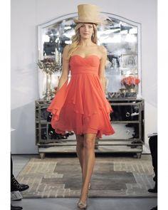 Bridesmaid Dresses   Martha Stewart Weddings