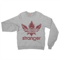 Sweatshirt Ugly Christmas Stranger Things Monster Adidas Adult