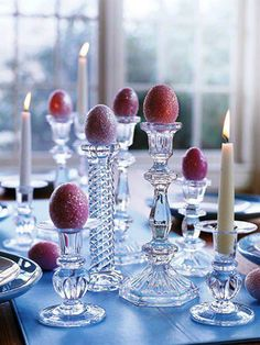 Table decor for Easter or Christmas!