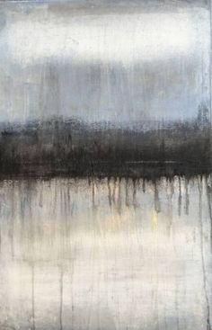 """Buy 1075 abstract antique white/black/blue, a Acrylic on Canvas by Roger König from Germany. It portrays: Abstract, relevant to: König, blue, contemporary, abstract, art, antique white, modern acrylic on canvas    47.2"""" H x 31.5"""" W x 0.8"""" in   hand Signed"""