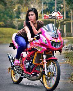 Super Modifikasi Motor Kawasaki Ninja Dan Cewek Keren Kawasaki Ninja, Draco, Automobile, Racing, Bike, Model, Motorcycles, Cars, Instagram