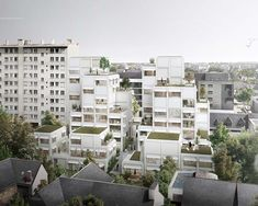 Green Architecture, Facade, Multi Story Building, Projects, Project Ideas, Concept, Urban, City, Interior