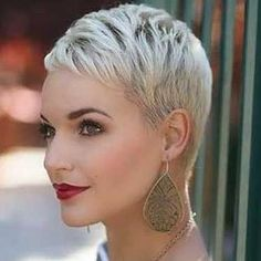 A nice, short pixie might well be the cutest and sexiest of women's hairstyles.